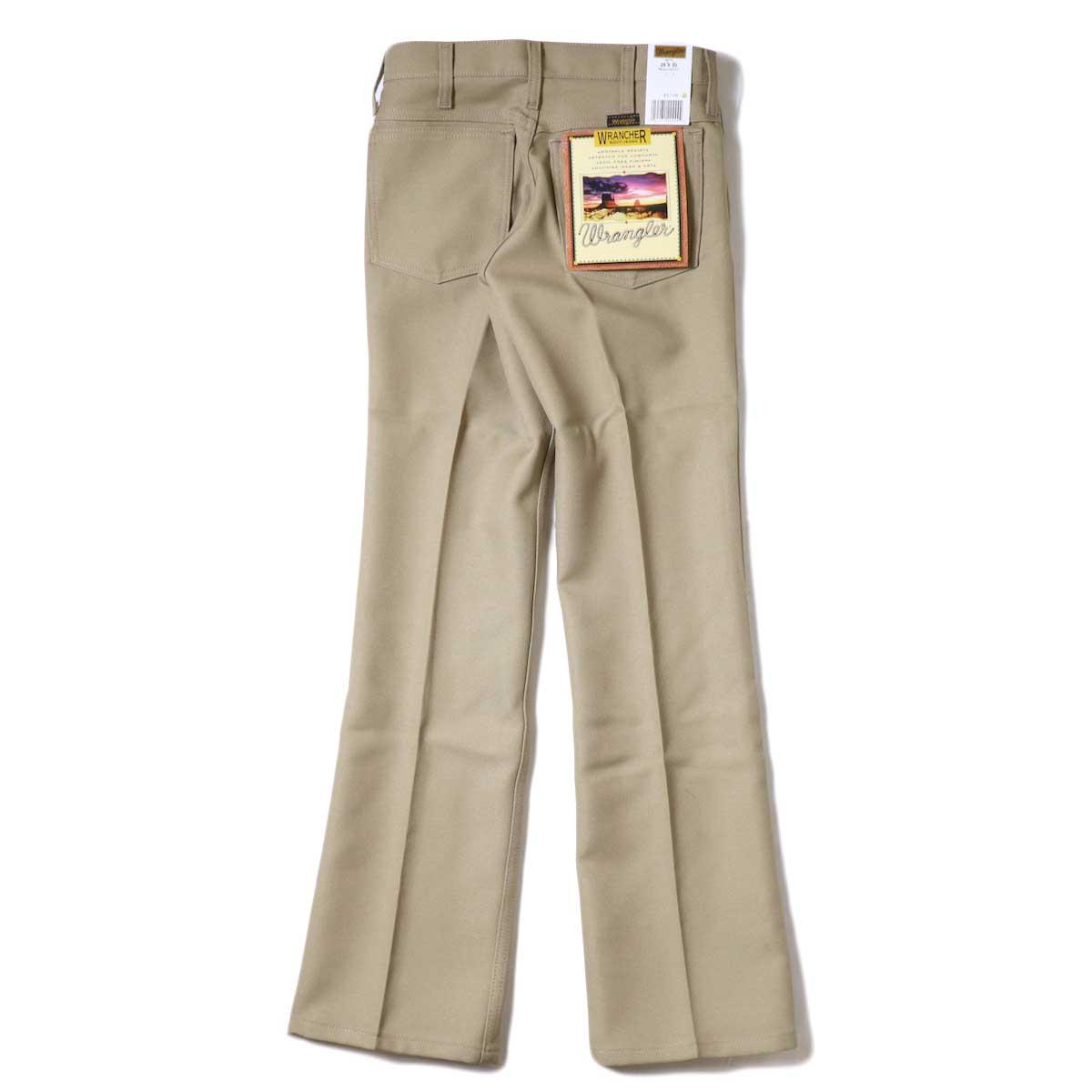 Wrangler / WRANCHER DRESS JEANS (Tan) 背面