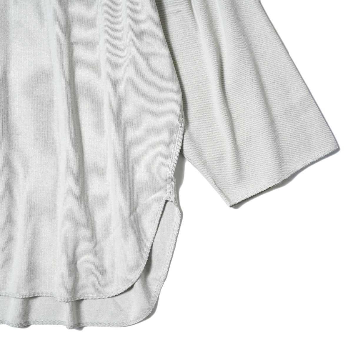 YLEVE / CTN RIB P/O BIG (Beige) 袖・裾
