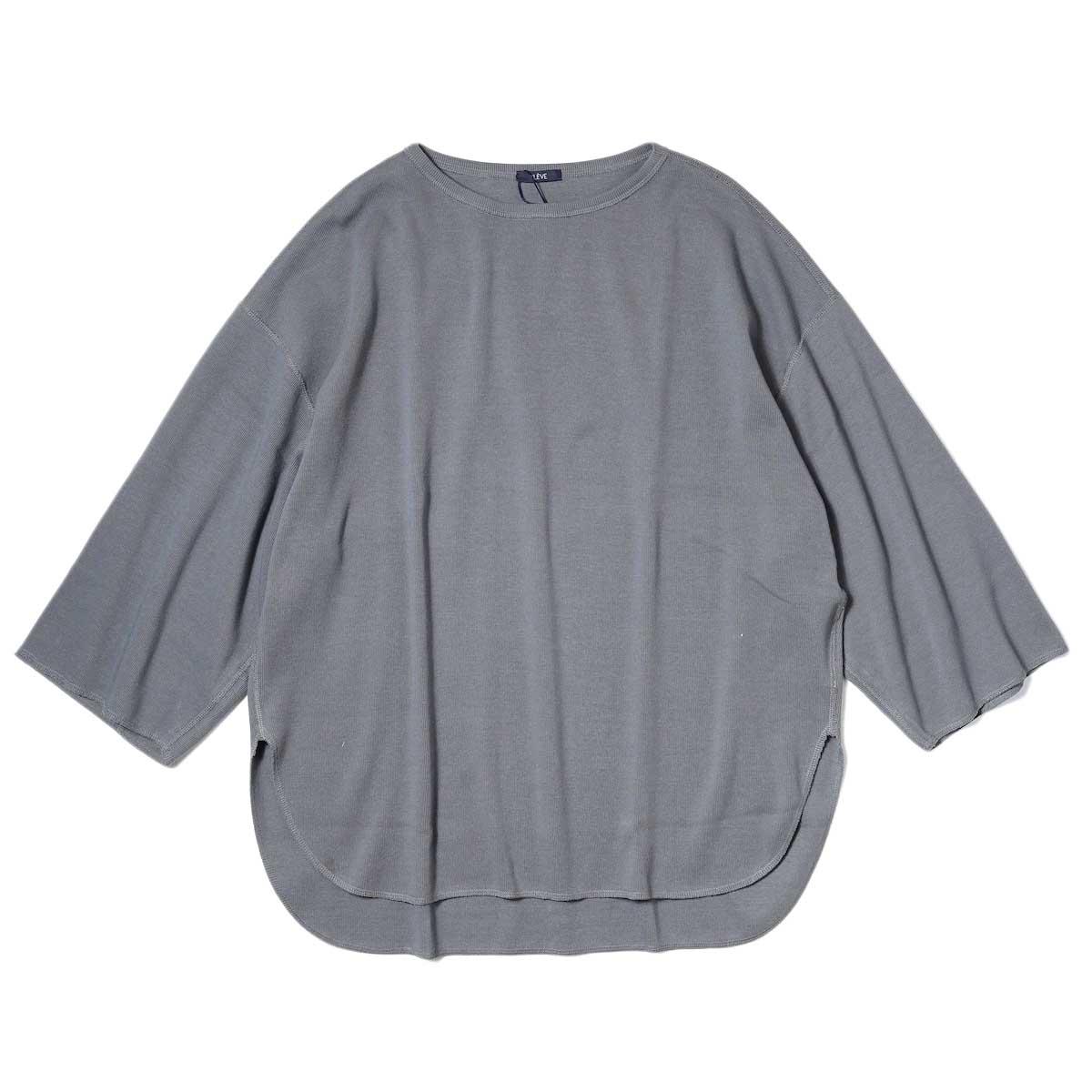 YLEVE / CTN RIB P/O BIG (Grey) 正面