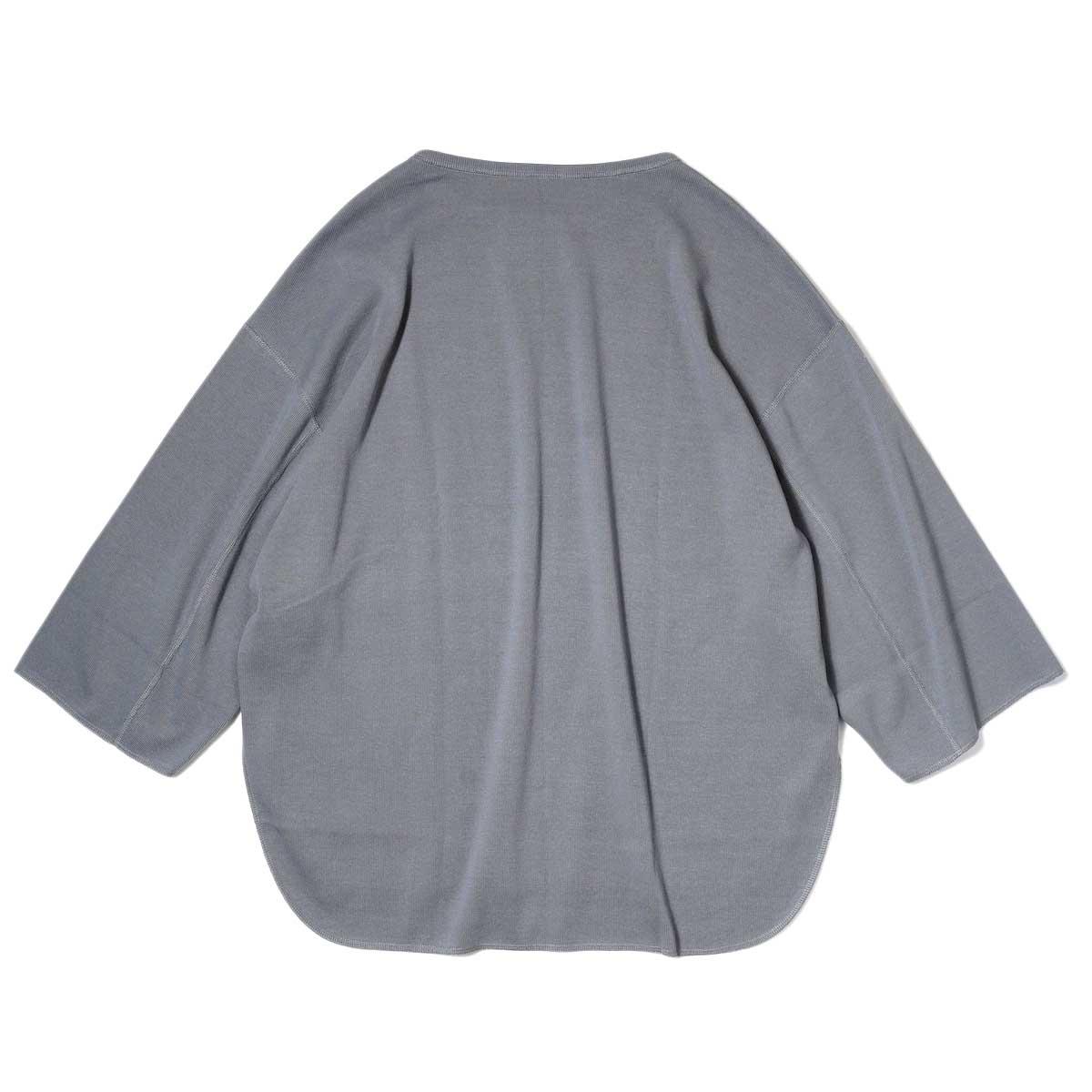 YLEVE / CTN RIB P/O BIG (Grey) 背面