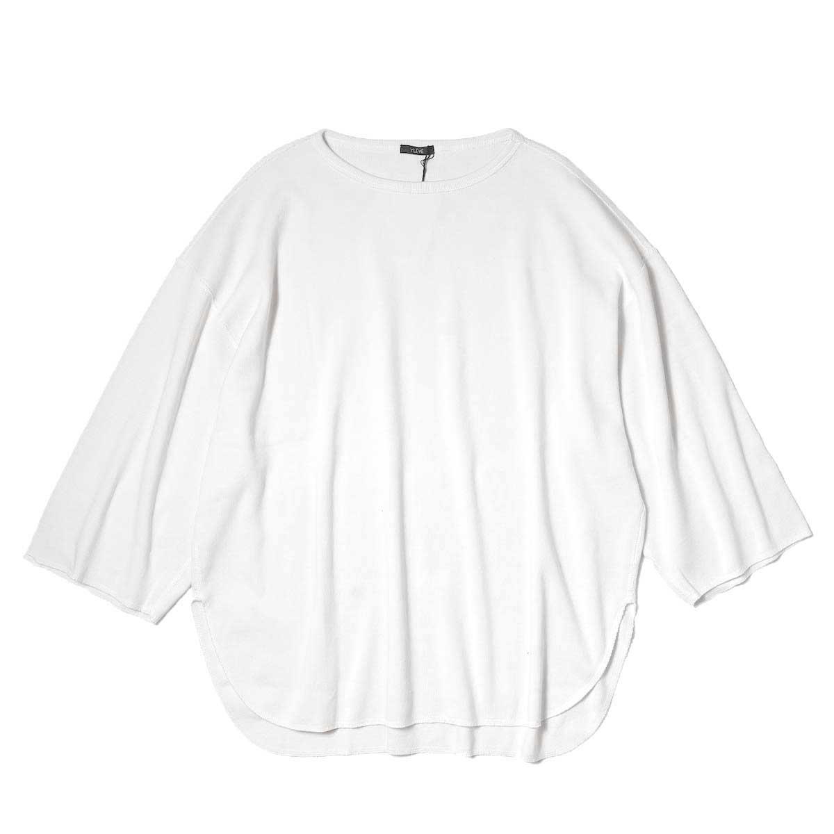 YLEVE / CTN RIB P/O BIG (White) 正面