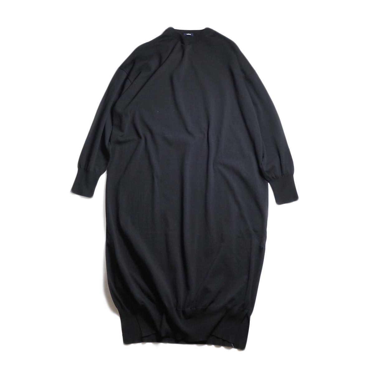 YLEVE / FINE COTTON KN OP (Black)