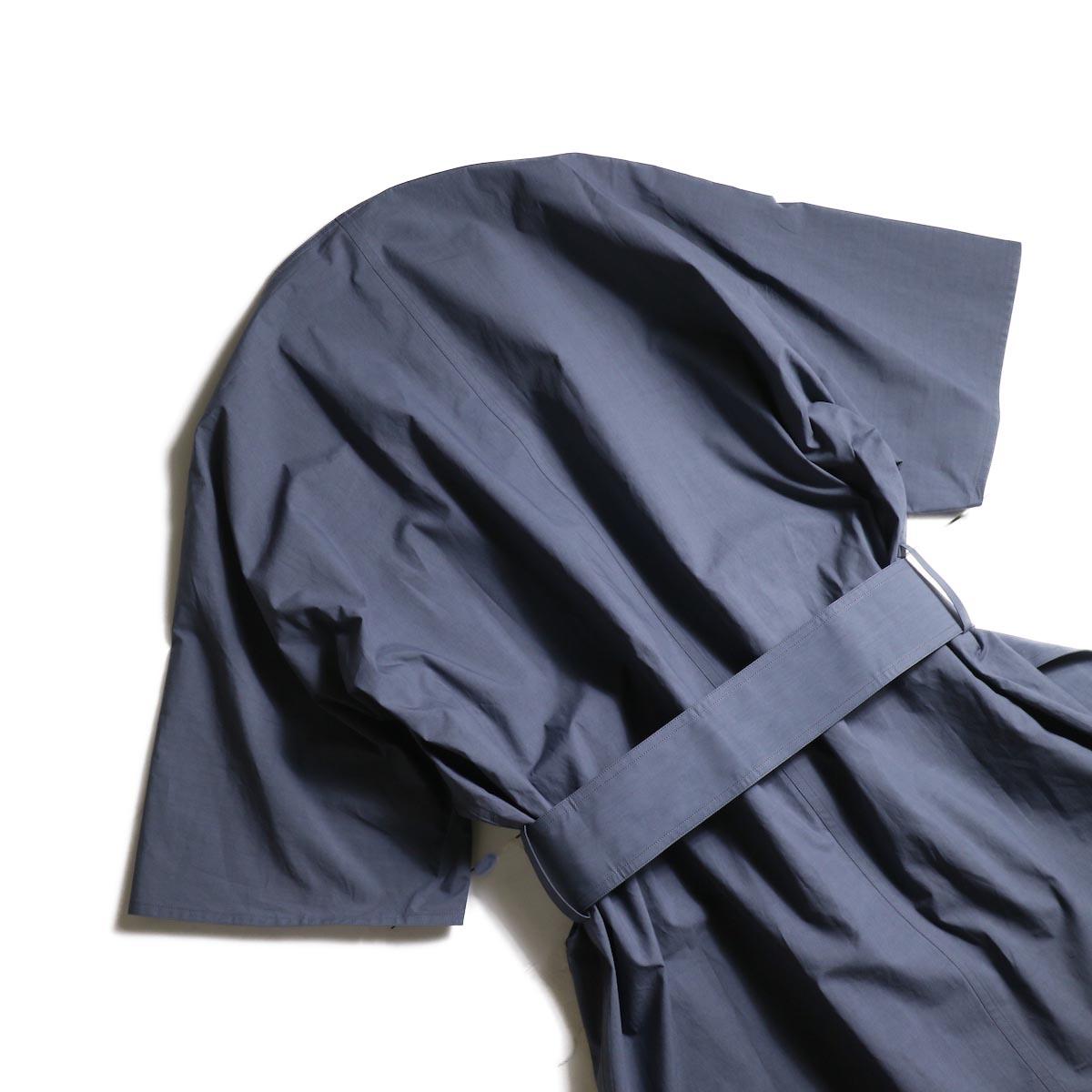 YLEVE / COTTON TYPEWRITER OP (Blue Gray)背面②