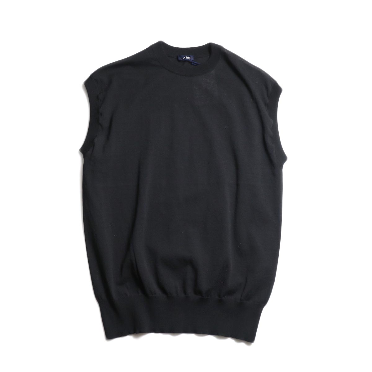 YLEVE / FINE COTTON KN N/S (Black)
