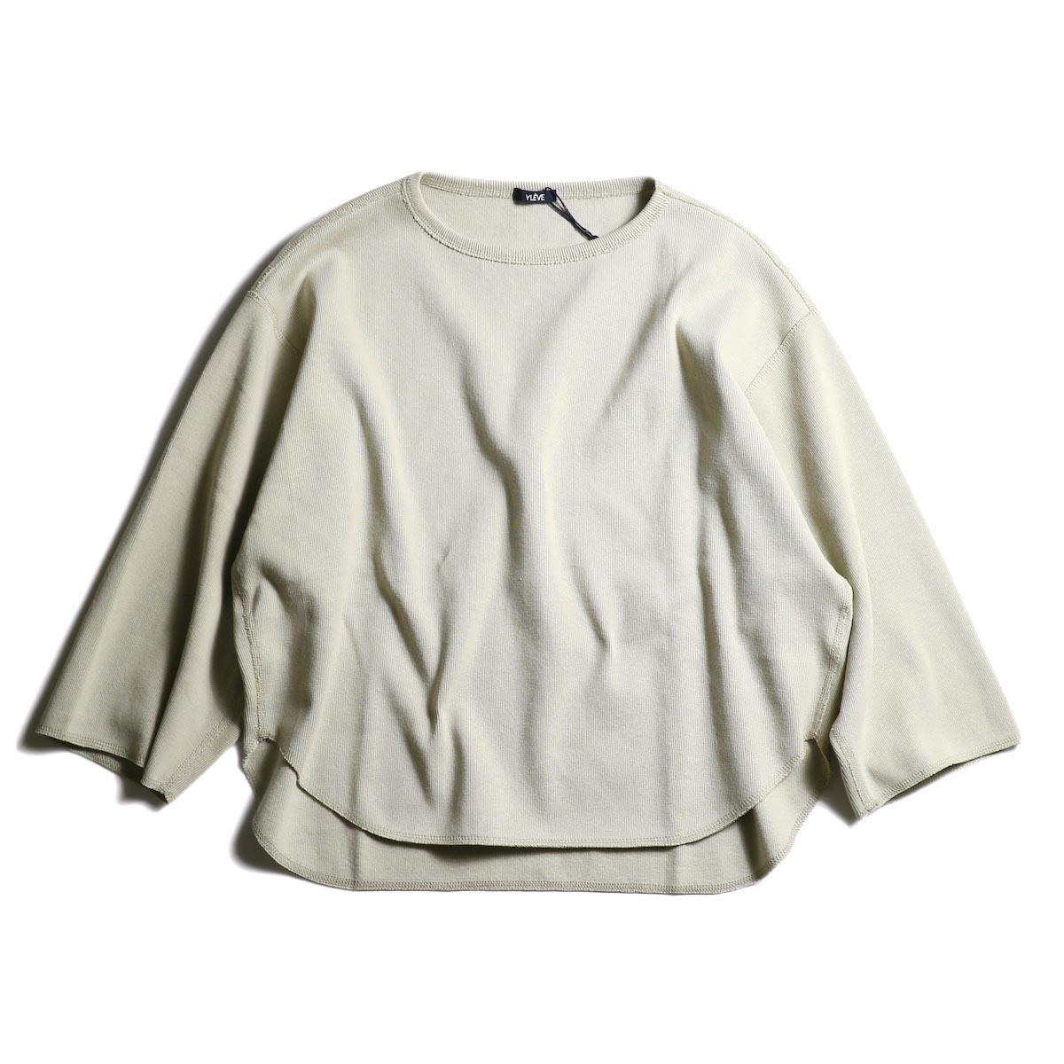 YLEVE / Cotton Rib Pullover (Safali)