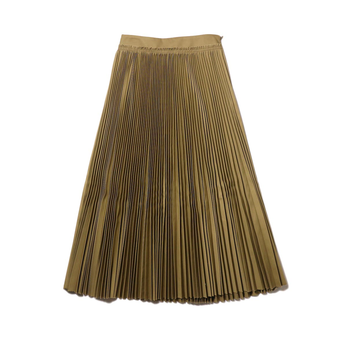 YLEVE / CHINO PLEATS SKIRT (beige)