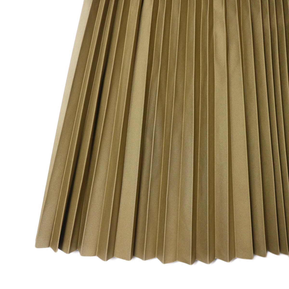 YLEVE / CHINO PLEATS SKIRT (beige) プリーツアップ