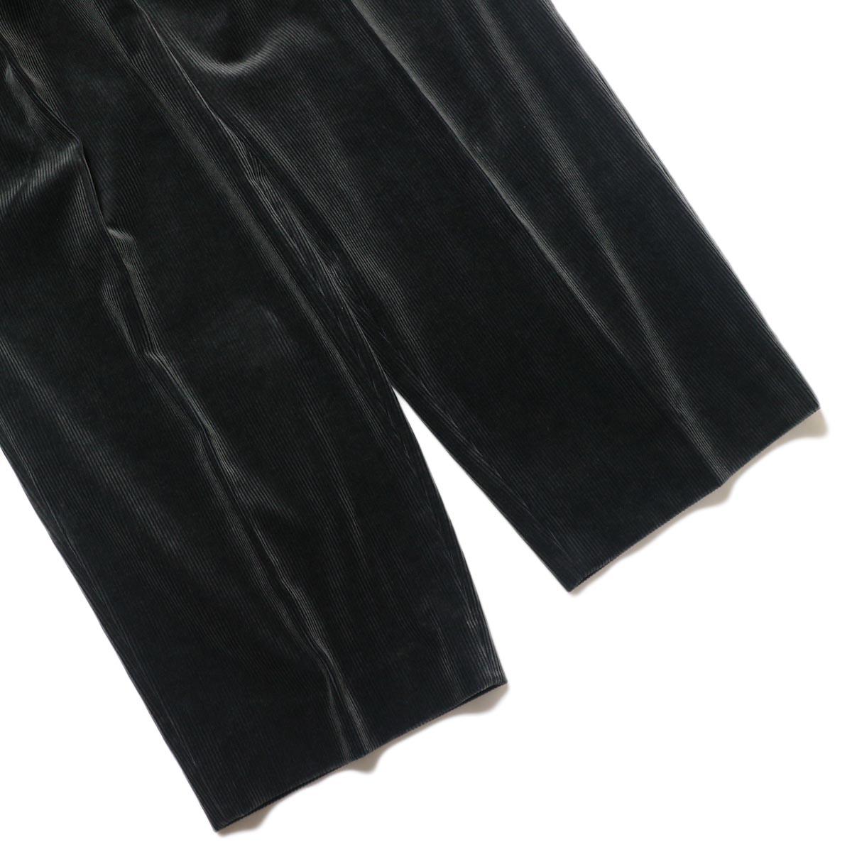 YLEVE / ELS CTN CORDUROY TR (charcoal) 裾