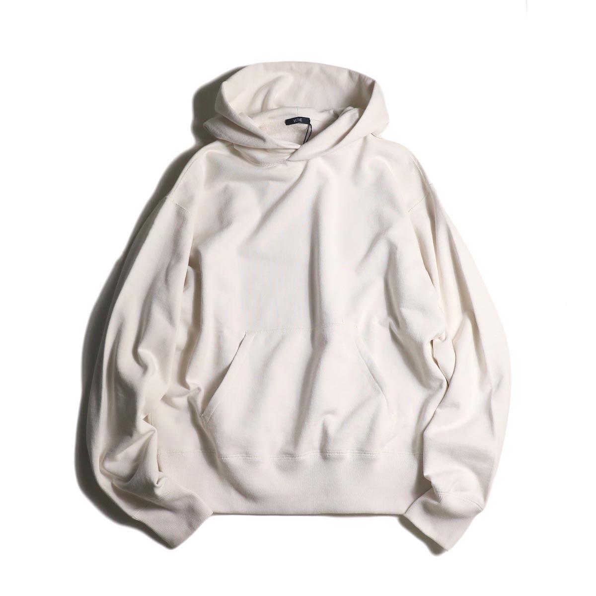 YLEVE / SUVIN CTN SWEAT HOODIE (white)
