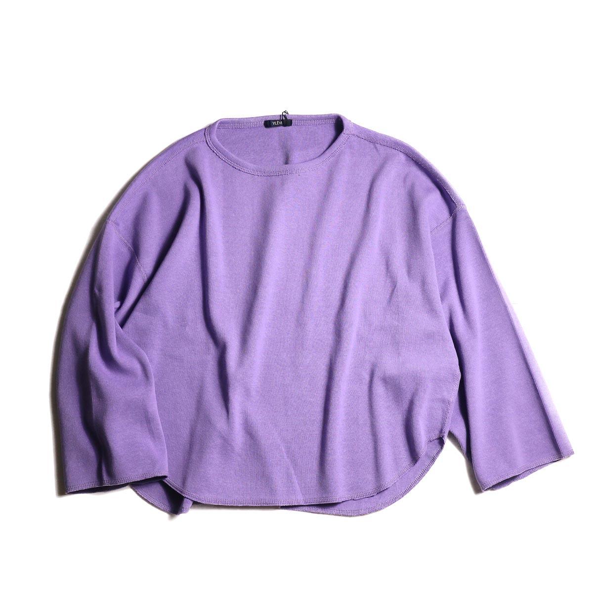 YLEVE / CTN RIB P/O BIG (Purple)