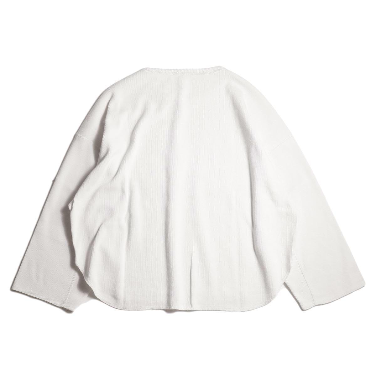 YLEVE / CTN RIB P/O (White) 背面