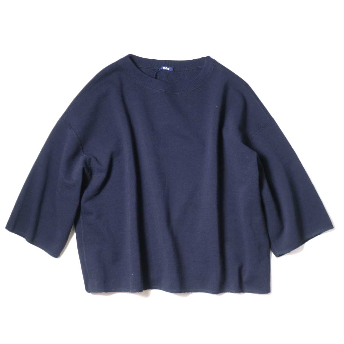 YLEVE / SUVIN CTN CUTOFF BIG (Navy)