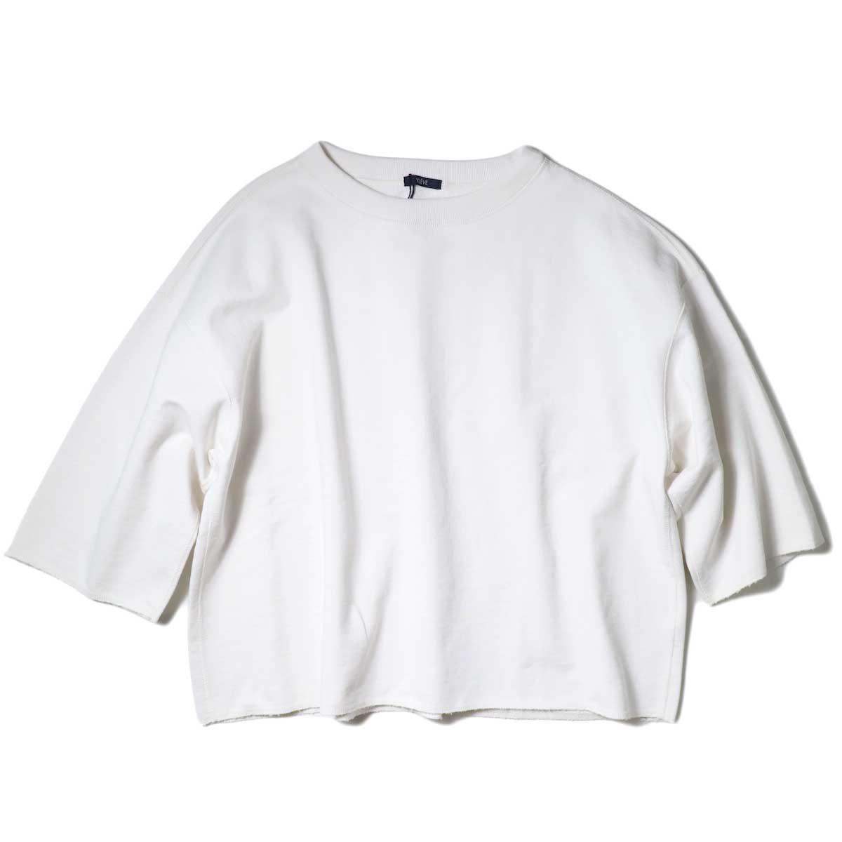 YLEVE / SUVIN CTN CUTOFF BIG (White) 正面