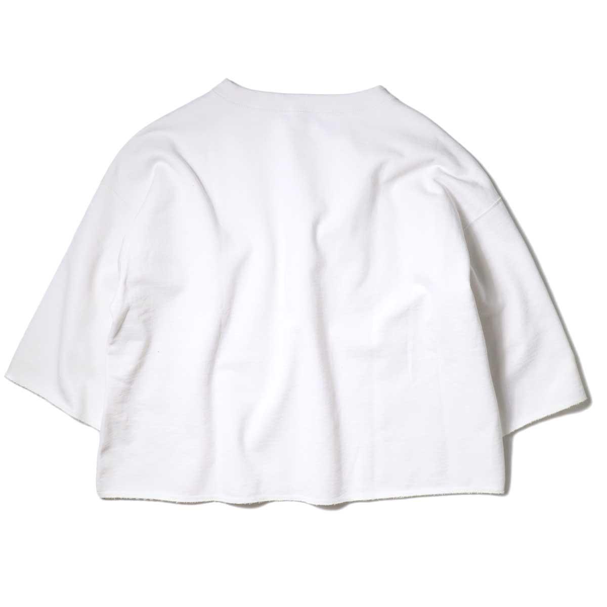 YLEVE / SUVIN CTN CUTOFF BIG (White) 背面