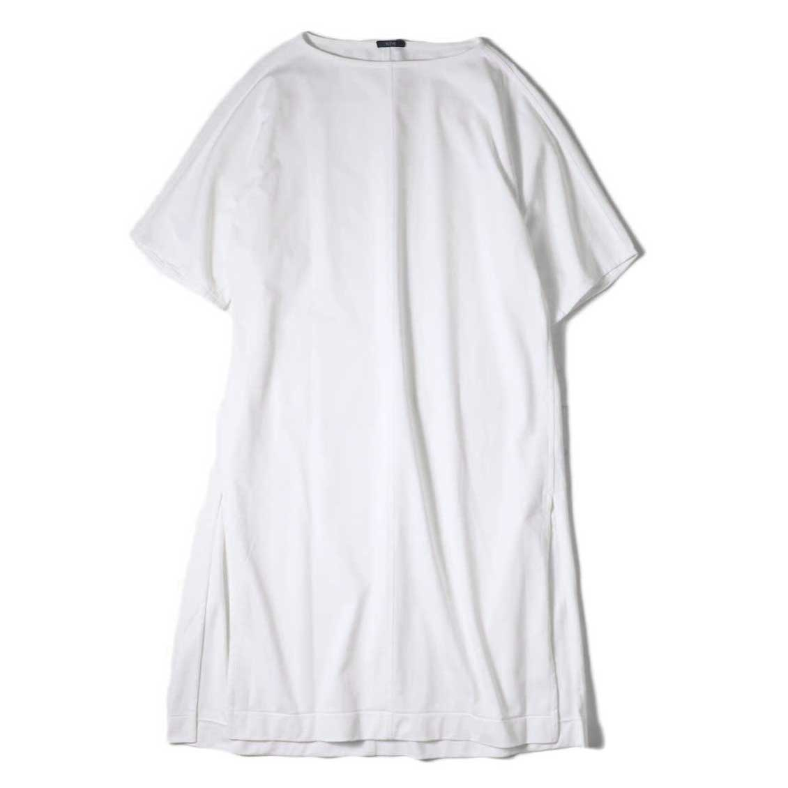 YLEVE / ORGANIC COTTON HIGH COUNT JERSEY OP (White) 正面
