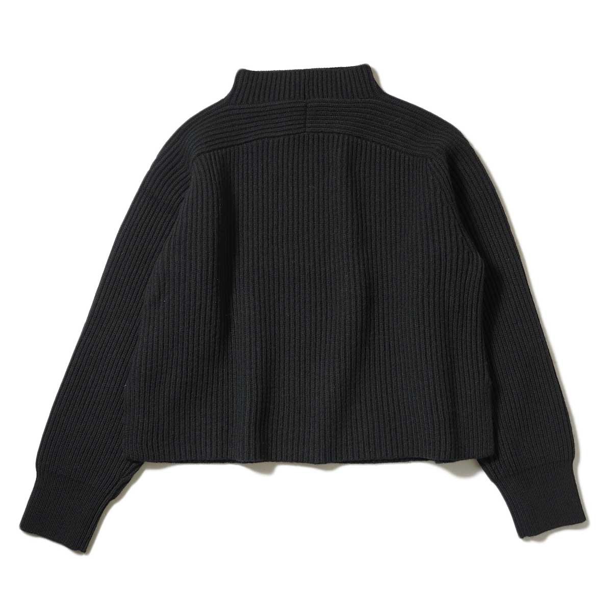 YLEVE / EX FINE MERINOWOOL KN P/O (Black) 背面