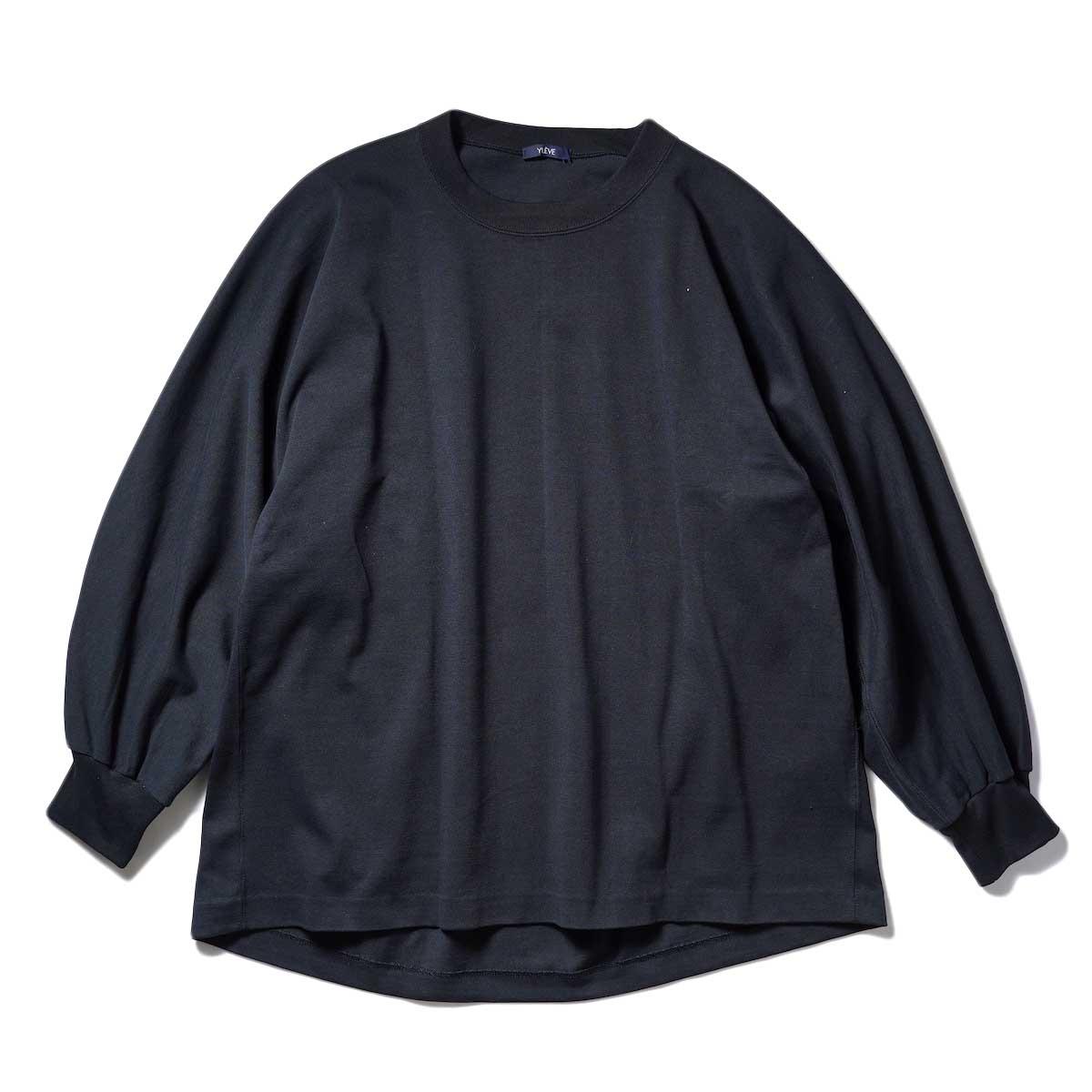 YLEVE / TWIST YARN COTTON BIG P/O (Black)