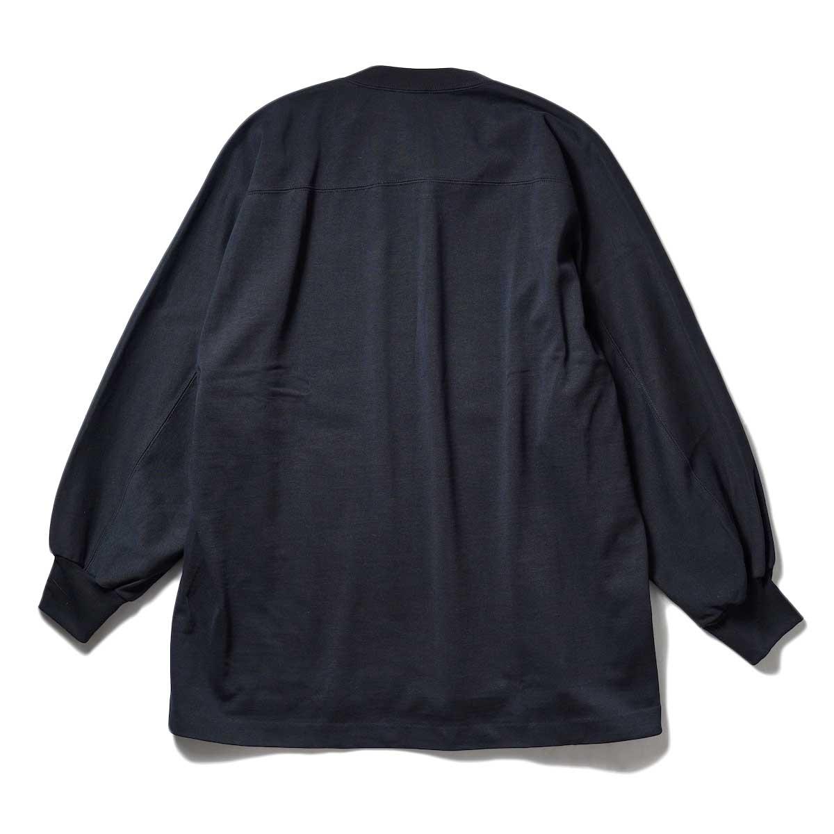 YLEVE / TWIST YARN COTTON BIG P/O (Black) 背面