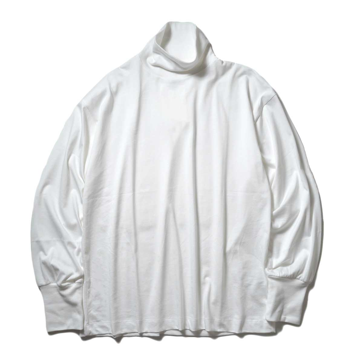 YLEVE / SOFT ORGANIC COTTON TURTLE (White) 正面