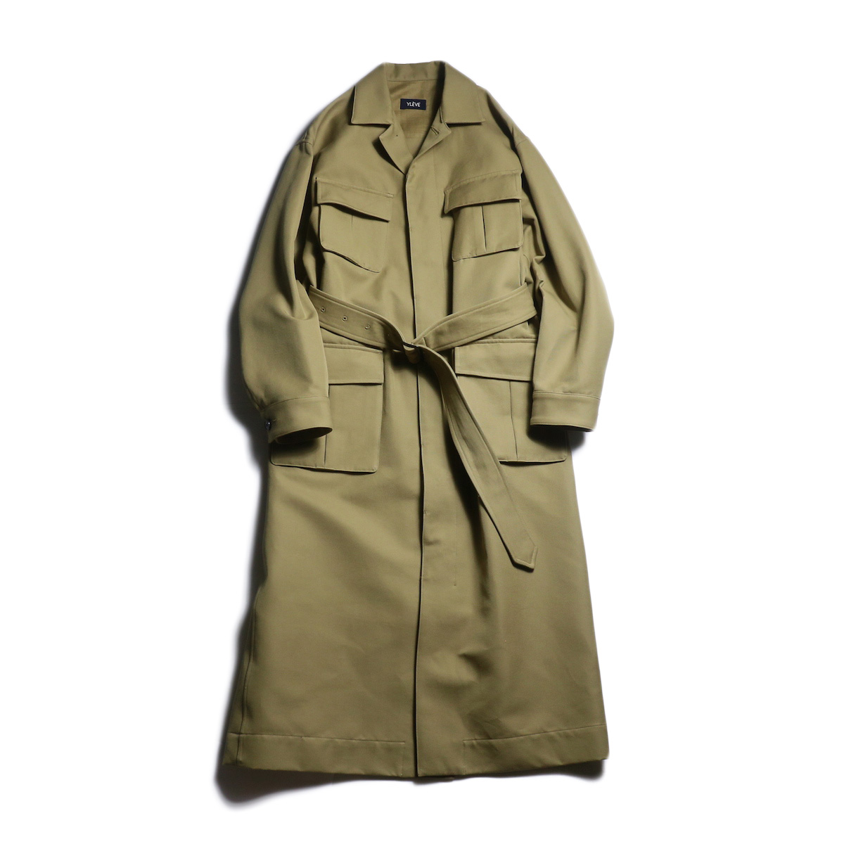 YLEVE / Cotton High Count Twill Co (Tan)