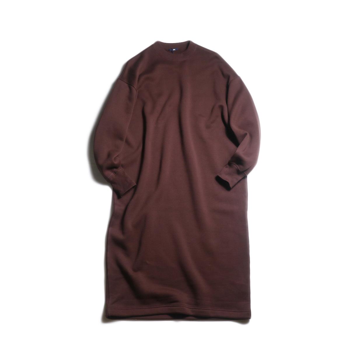 YLEVE / Fine Cotton Fleece OP (Burgundy)
