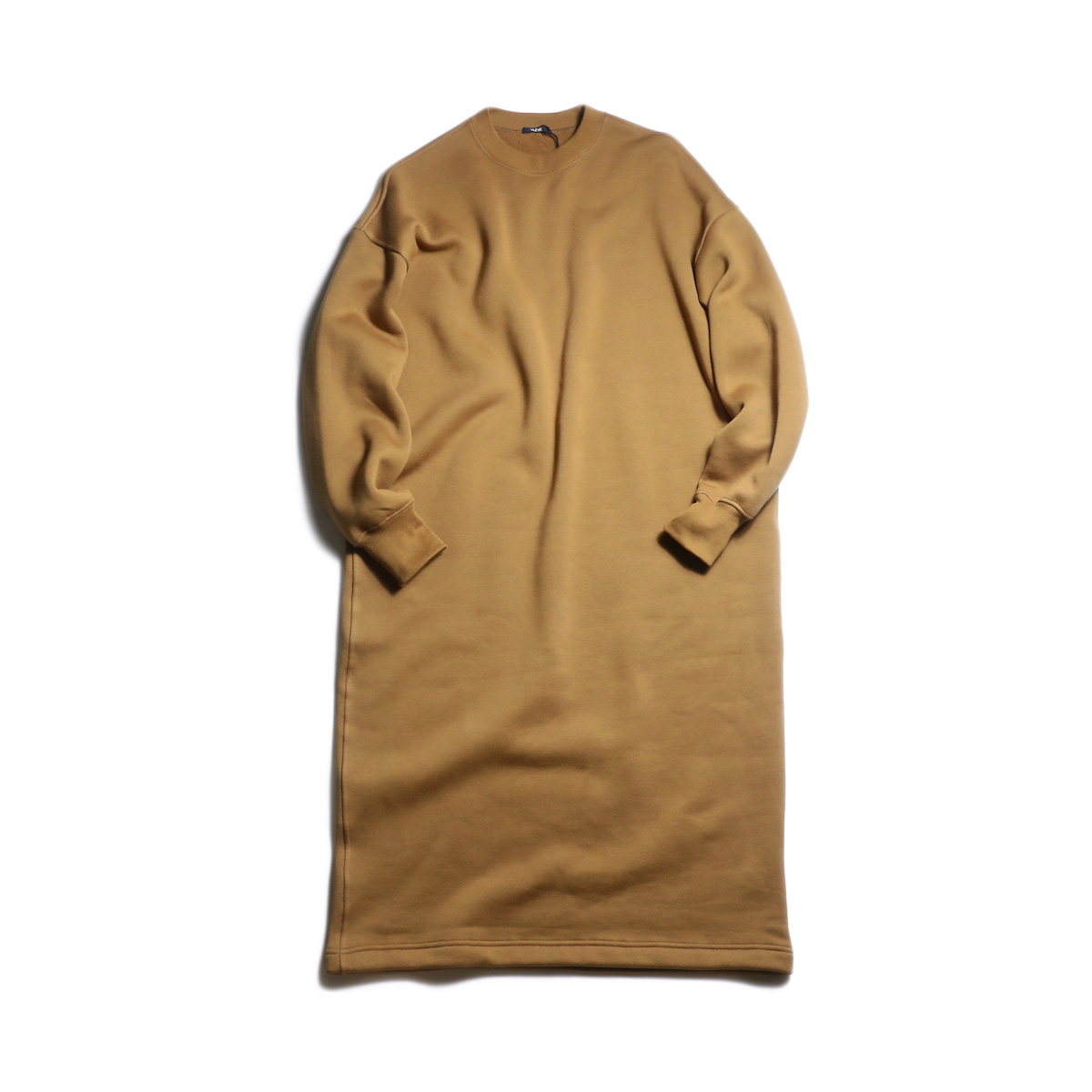 YLEVE / Fine Cotton Fleece OP (Camel)