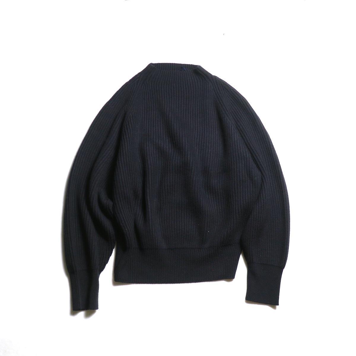 YLEVE / Extrafine Merino Wool KN P/O (Navy)