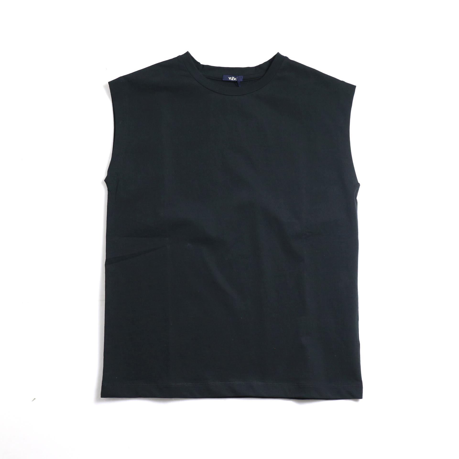 YLEVE / Organic Cotton Bio N/S -Black