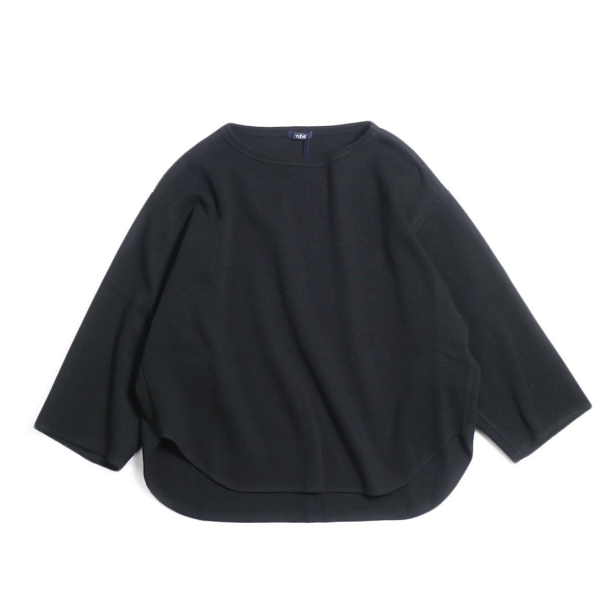 YLEVE / CTN Rib P/O -Black