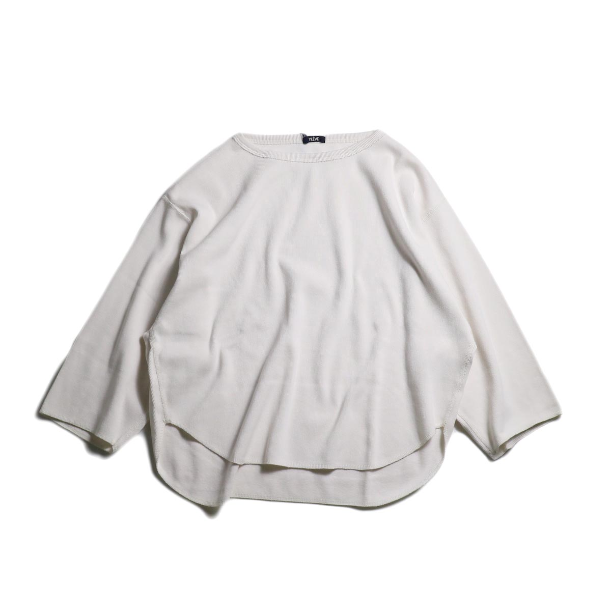 YLEVE / Cotton Rib P/O (White)