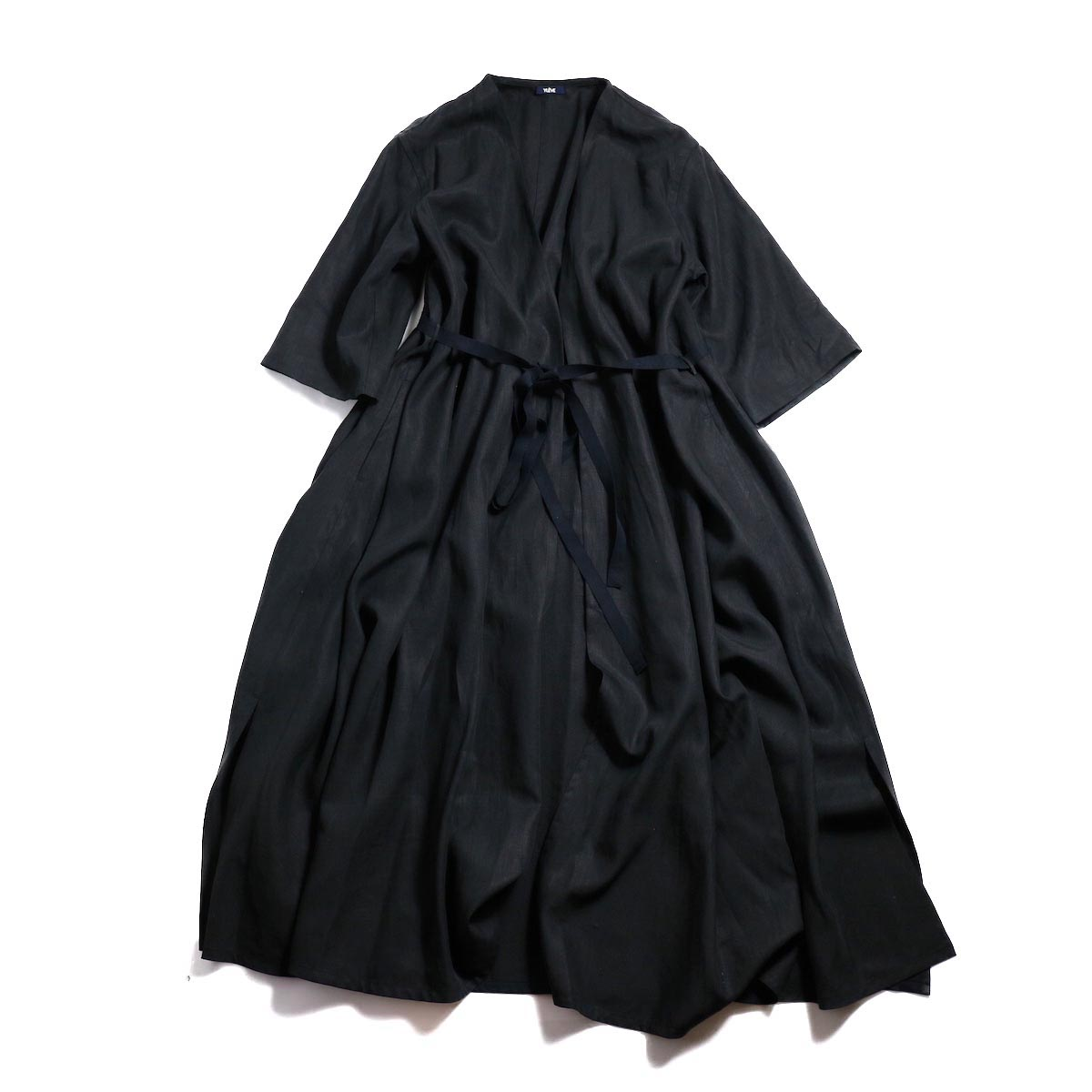 YLEVE / Linen Cotton KN CD -Black 正面