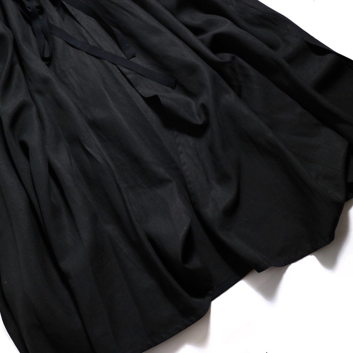 YLEVE / Linen Cotton KN CD -Black 裾