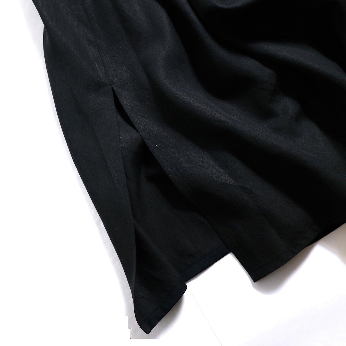 YLEVE / Linen Cotton KN CD -Black スリット