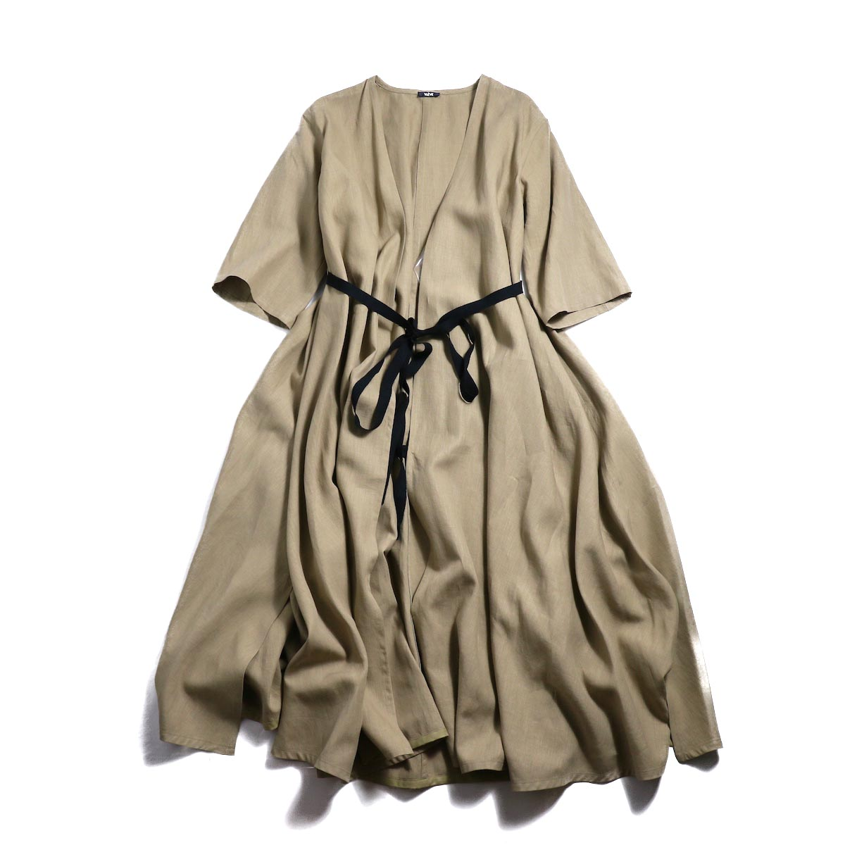 YLEVE / Linen Cotton KN CD -Camel 正面