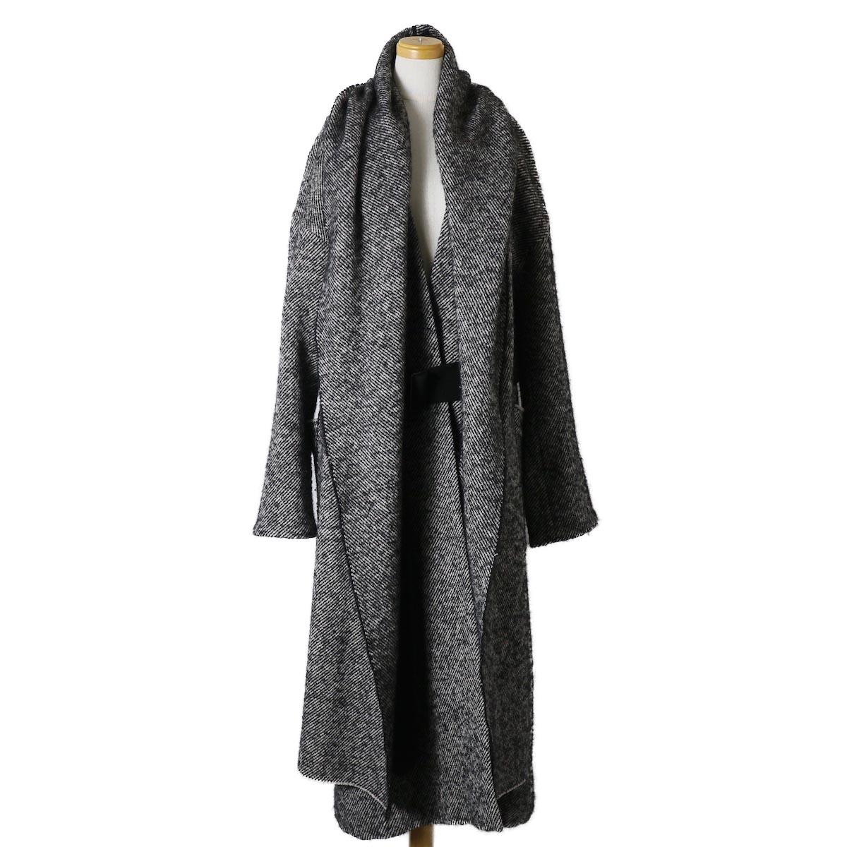 YLEVE / Monotone Tweed Coat