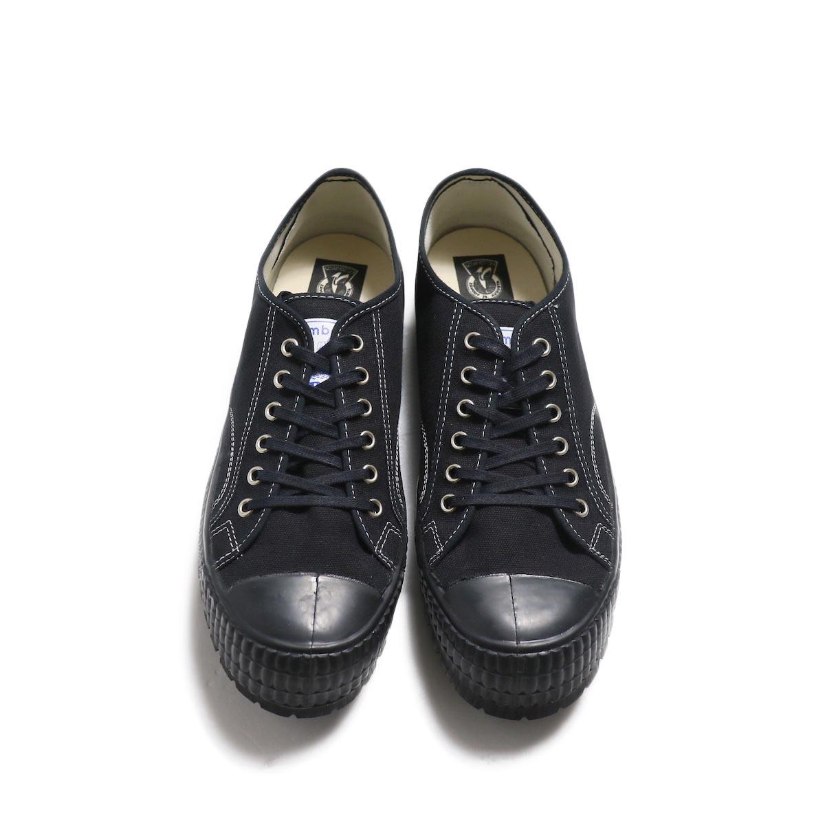 ZDA / 2100-F Climber Sole Cnavas Sneaker (Black)正面