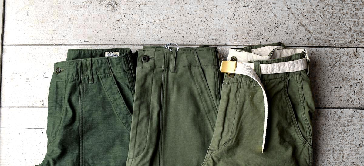 <SPAN>#6穿き比べ。 Ladie'sのFatigue Pants</SPAN> #6穿き比べ。 Ladie'sのFatigue Pants</SPAN>